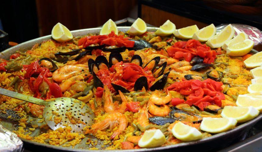 ¿Cómo preparar paella de marisco?